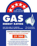 AGA Gas Energy Rating Label