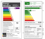 European Windows and Doors Energy Rating Label